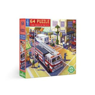 Fire Truck in the City. Daniel Kirk