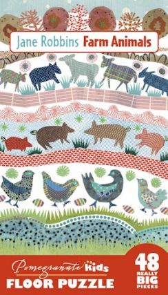 Farm Animals (Floor puzzle). Jane Robbins