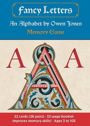 Fancy Letters Memory Game (An Alphabet by Owen Jones