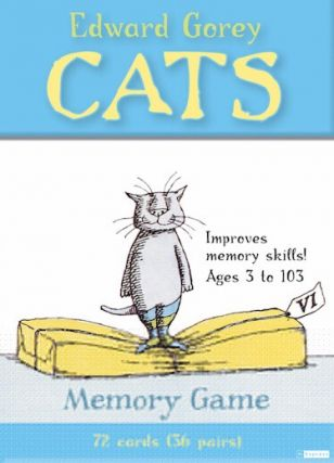 Edward Gorey Cats Memory Game