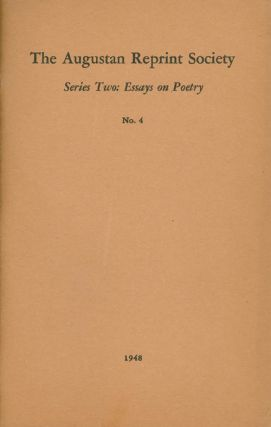 Series Two: Essays On Poetry No. 4: A Full Enquiry into the True Nature of Pastoral (1717)....
