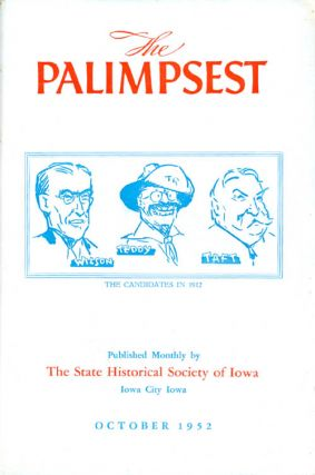 The Palimpsest - Volume 33 Number 10 - October 1952. William J. Petersen