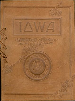 Commencement, State University of Iowa - College of Liberal Arts, June 15, 1910. Andrew Jay...