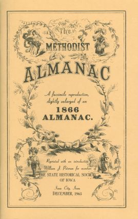 The Methodist Almanac for the Year of Our Lord 1866, Being the Ninetieth Year of American...