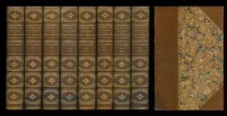 A History of England in the Eighteenth Century (Complete in Eight Volumes). William Edward...