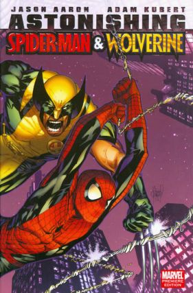 Astonishing Spider-Man and Wolverine. Jason Aaron
