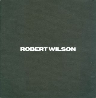Robert Wilson: Alceste Drawings and Furniture/Sculpture. Robert Wilson
