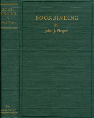 Bookbinding: Blank, Edition and Job Forwarding, Loose Leaf Binders, Pamplet Binding, Etc.,...