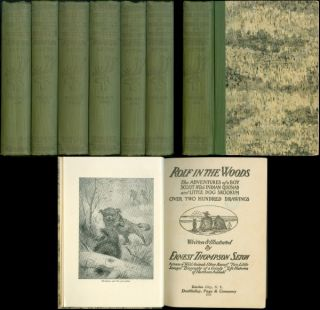 The Library of Pioneering and Woodcraft (Six volume set). Ernest Thompson Seton