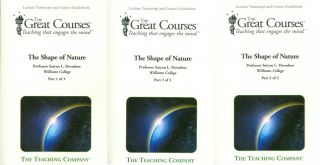The Shape of Nature (Three volume book set). Satyan L. Devadoss, The Great Courses