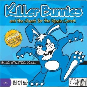 Killer Bunnies - Blue Starter (Includes Yellow Booster!